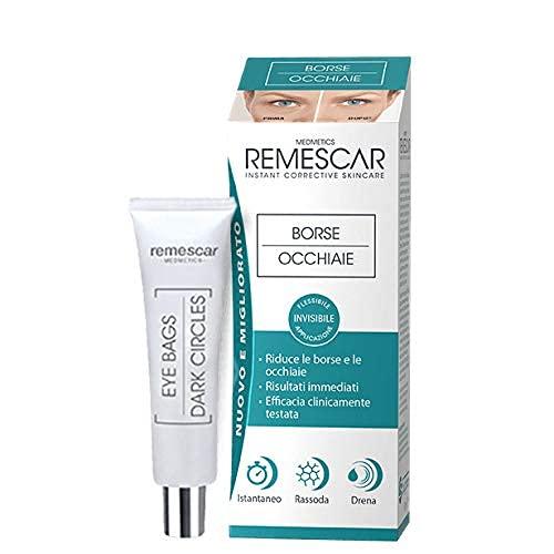 Remescar - Tränensäcke und Augenringe - Creme für Tränensäcke und Augenringe - Sofort wirkende Behandlung für Männer und Frauen - Straffung der Augenpartien - Tränensäcke und...