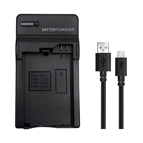 PSP-110 PSP-S110 Battery Charger,PSP 110 PSP S110 Battery Charger Wall Charger Adapter for Playstation PSP1000 1000G1 1004 1006 PSP2000 PSP2001 PSP2003 PSP2004 PSP3000 PSP3001 PSP3003 PSP3004
