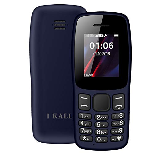 IKALL K14 with 1.8 Inch Colour Display Multimedia Phone Without Camera (Dark...