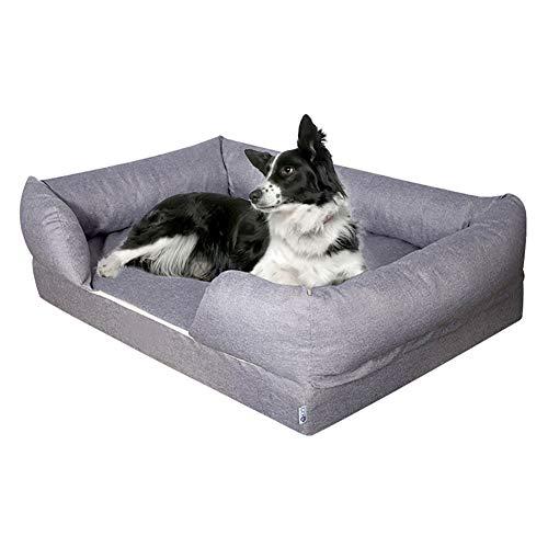 lovecabin Sofa Cama para Perro Extra Grande Estilo Lounge Perros Mascotas Grandes Gigantes con Memoria Viscoelástica Ortopédica