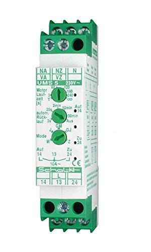Schalk AUF/ZU-Steuerung UMS 5 (230V AC) 2S 10A Jalousiesteuerung 4046929401029