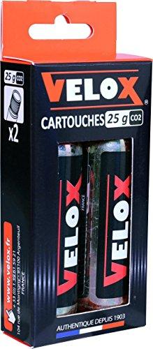 Velox Cartouches CO2 25 g - 25 g, Lot de 2