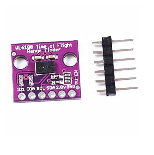 LIZONGFQ 1 Uds VL6180 buscador de Rango módulo de Sensor de Rango óptico de Alta precisión para Arduino