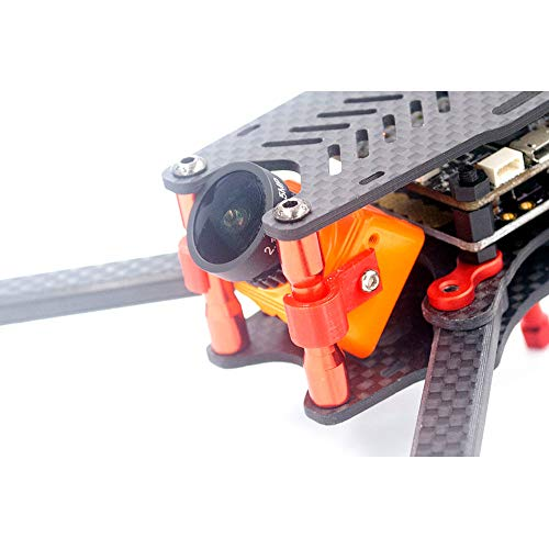 BliliDIY Kit Telaio F2-Mito Gs Ricambio Stampa 3D Mini Videocamera Fissa Fpv Supporto Fisso Per Rc Drone