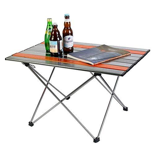 WYYH Campingtisch Klappbar Leicht, Luftfahrt Aluminiumlegierung Camping Klapptisch Ultraleicht Und Tragbar Klapptisch Tisch Klappbar Verwendet Für Picknick Camping Strand Barbecue