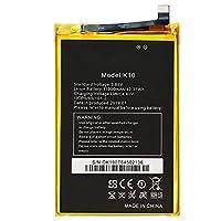 電池OUKITEL対応携带バッテリー 11000mAh 3.85V OUKITEL K10 電話バッテリー OUKITEL K10 交換用のバッテリー 互換電池