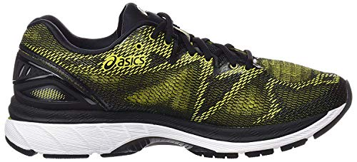 Asics Gel-Nimbus 20, Zapatillas de Running para Hombre, Amarillo (Sulphur Spring/Black/White 8990), 42.5 EU