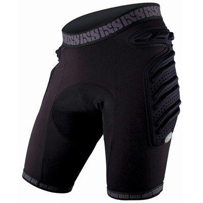 iXS Sports Division Skid Evo-II Short de Protection rembourré pour Femme Noir Noir Taille 40