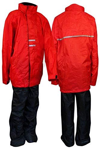 Rainsuit Junior Taille Rouge/Noir 176