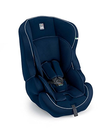 Kindersitz Travel Evolution (9-36 kg) Motiv Blau/Weiße Nähte