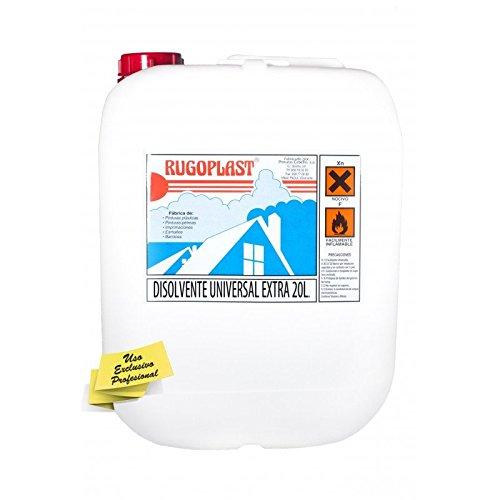 Disolvente universal extra diluyente para pinturas y barnices en general, limpieza de utensilios (20L) Envío GRATIS 24 h. 🔥
