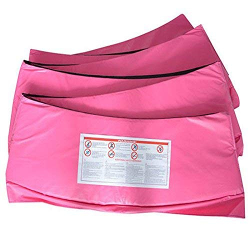 Greenbay Trampoline Replacement Safety Spring Cover Padding Pad + Safety Net Enclosure Surround Outside Netting 6 FT Foot Pink