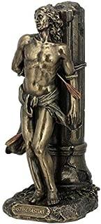 XoticBrands St Sebastian - Religious - Cold Cast Bronze Sculpture