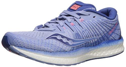 Saucony Women's S10510-1 Liberty ISO 2 Running Shoe, Blue/Navy - 6.5 M US
