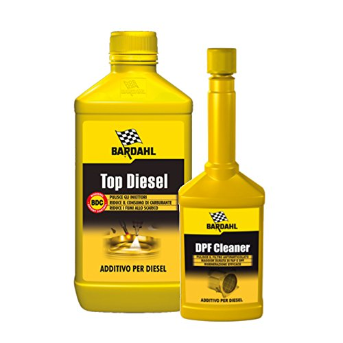 Bardahl Top Diesel 1Lt + DPF Cleaner 250mL - Additivo Diesel e...
