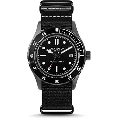 Jack Mason Diver 3 Hand Stainless...