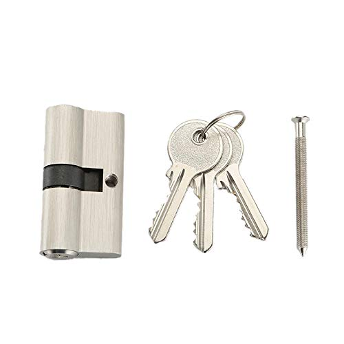 Deursloten met 3 sleutels, vervangingskast voor bureaumeubels in het bovenste huis, terrasschuiflade, cilinderslot beslag