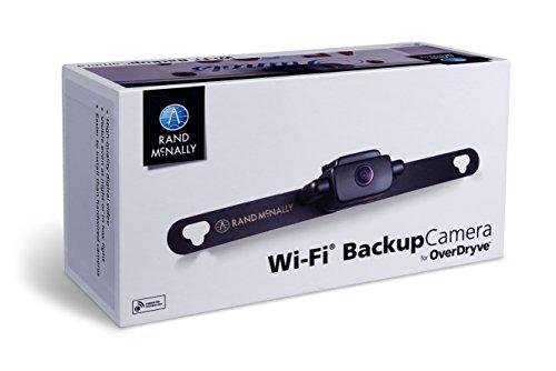 Rand McNally 0528015338 Wi-Fi Vehicle Backup Camera, Black