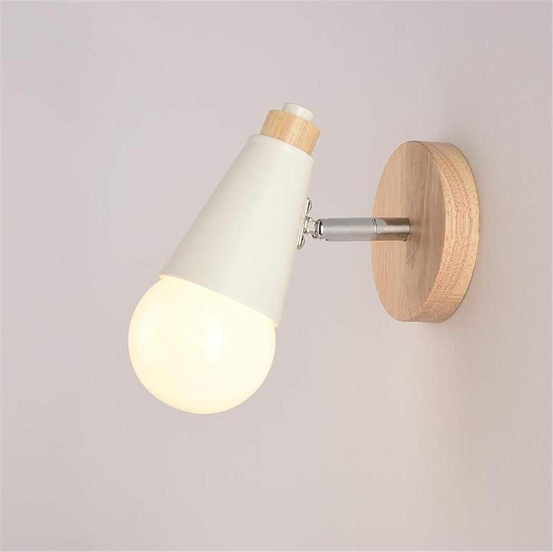 Moderne E 27 der Ice Horn kreative Form von Holz & Wandleuchte moderne Einfachheit, lesen Nacht Tischleuchte für das Schlafzimmer Flur lounge Light deation