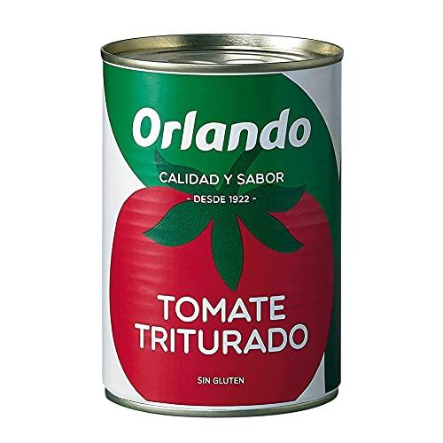 ORLANDO Tomate Triturado Lata 400gr