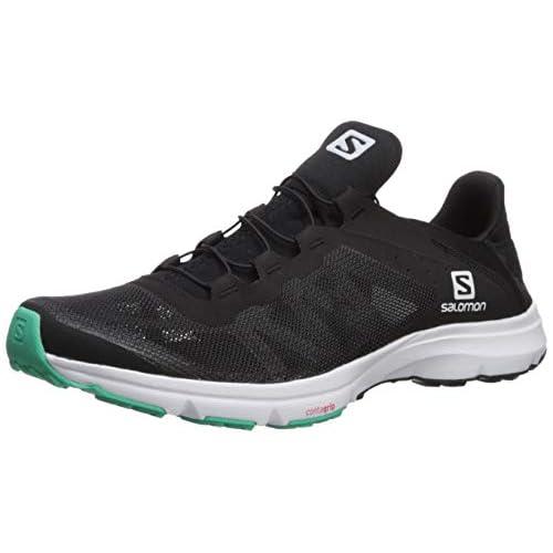 SALOMON Shoes Amphib Bold, Stivali da Escursionismo Donna, Multicolor (Nero/Bianco/Verde Elettrico), 36 EU