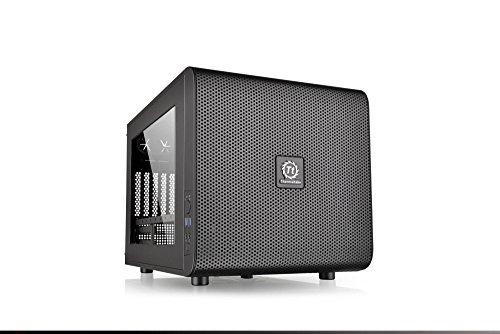 Thermaltake Core V21/Black/Win/SECC 水冷対応キューブPCケース CS5068 CA-1D5-00S1WN-00