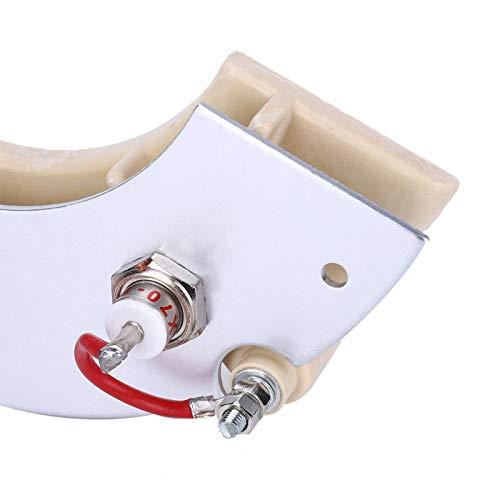 Accesorios para grupos electrógenos, rueda rectificadora, larga vida útil Amplio uso para generador sin escobillas Diodo de rectificación de excitación Zx25A-12P