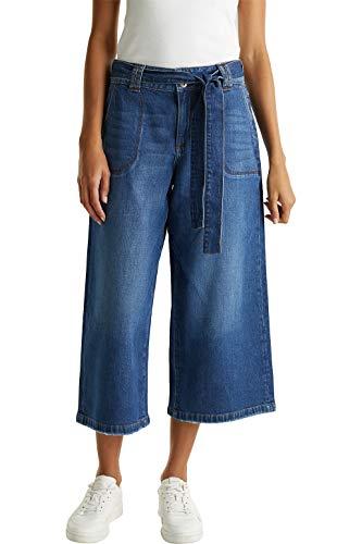edc by ESPRIT Damen 030CC1B305 Jeans, 901/BLUE Dark WASH, 29/24