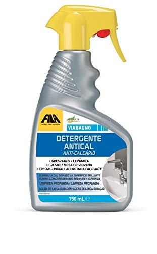VIA BAGNO, Spray Antical para el bagno, limpia y recupera el brillo de grifos, sanitarios y superficies de baño y ducha. per il bagno, 750ml