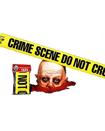 Horror-Shop US Crime Scene Tape / Polizei Tatort Absperrband