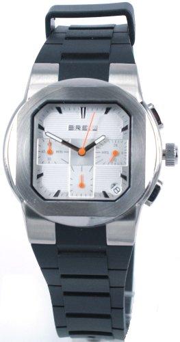 Breil TW0591 - Reloj analógico de Cuarzo para Hombre con Correa de plástico, Color Negro
