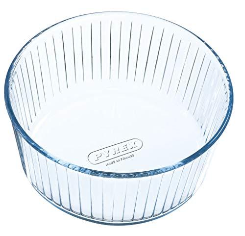 Pyrex - Bake & Enjoy - Moule à Soufflé en Verre Ø 21 cm