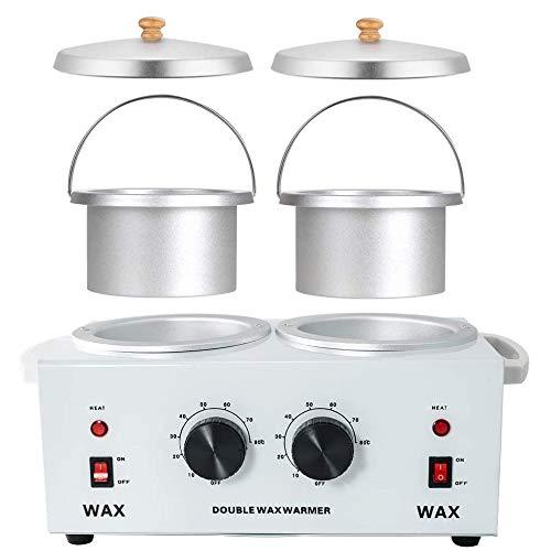 Wax Warmer Calentador de Cera Doble, Calentador de Cera Doble Calentador eléctrico...