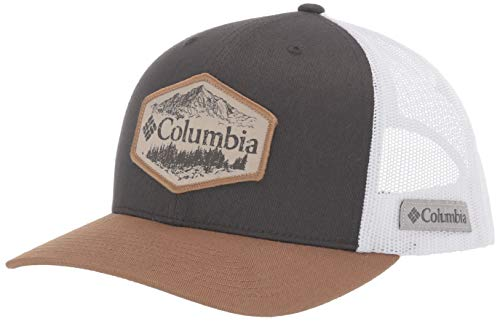 Columbia Mesh Snap Back Hat, Shark/Delta/Outsider Patch, One Size