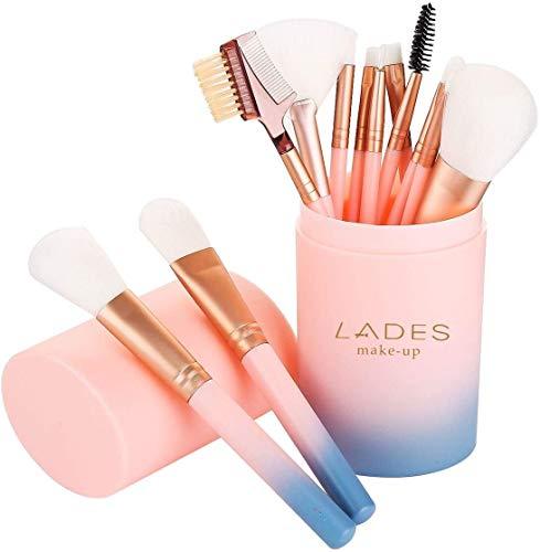 Makeup Brush Sets - 12 Pcs Makeup Brushes for Foundation Eyeshadow Eyebrow Eyeliner Blush Powder Concealer Contour