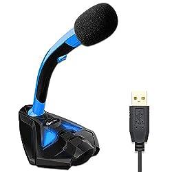 ✅ EXCELLENTE QUALITÉ AUDIO. Microphone de bureau ou de table pour PC, d'une grande sensibilité. Dispose d'un filtre audio breveté pour étouffer les bruits annexes pour se concentrer sur la voix. Inclu un filtre anti-pop. ✔BONUS : Recevez gratuitement...