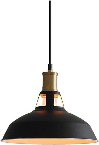 WTHBD lustre rétro simple tête unique comptoir de bar café restaurant lustre décoratif (Couleur   B)