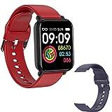 2021 R7 Ladies Smart Watch for Men, Bluetooth Fitness Tracker 1.3 Pulgadas Pantalla Táctil Completa IP68 Sports Watch Monitor De Frecuencia Cardíaca para iOS Android,G