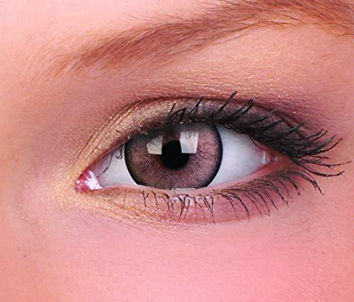 Farbige Kontaktlinse Lumina Glänzend braun 3 Monate Einweg 14mm stärke 0.00 von ColourVUE entfernt