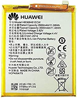 Huawei HB366481ECW Honor8/P9/P9 lite/P10 lite/P20 lite/nova lite/交換用バッテリー 修理用