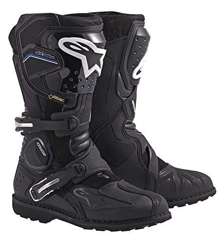Alpinestars - 3402-0377 Toucan Gore-Tex Men's Weatherproof Motorcycle Touring Boots (Black, US Size 9)