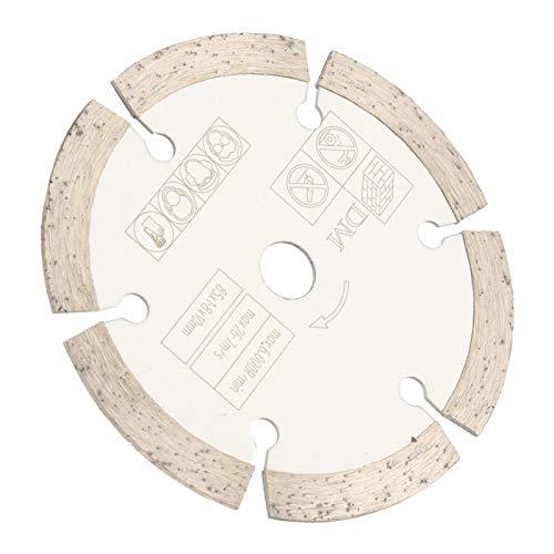 Disco de corte de madera ranurado Disco de sierra circular de diamante Disco de corte de sierra circular Disco de corte de sierra circular 3.35 pulgadas * 0.39 pulgadas Herramienta