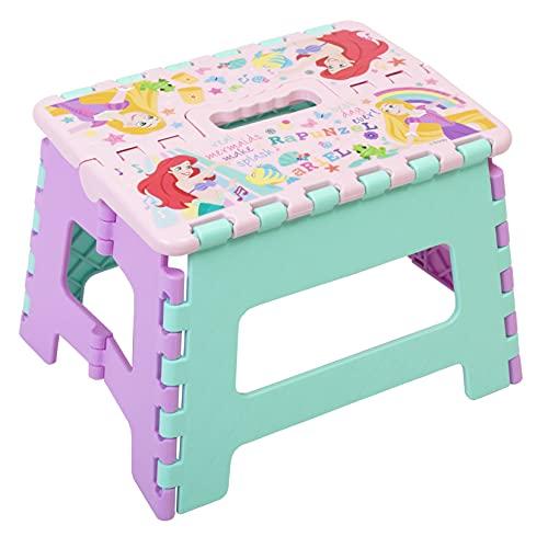 キャラクター 折りたたみ 踏み台 ステップチェア 便利 な 折り畳み チェア (ディズニー プリンセス)