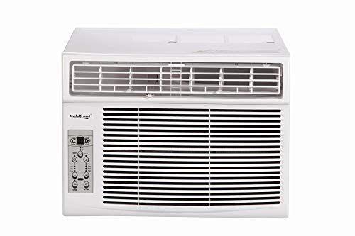Koldfront WAC12003WCO 12000 BTU 115V Window Air Conditioner with Dehumidifier and Remote Control