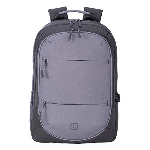 Tucano - Zaino Porta Pc 15.6  Pollici, Compatibile con MacBook PRO 16 . Backpack Bingo, Zaino Capiente da Ufficio e università, in Poliestere Riciclato