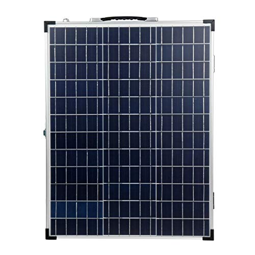 Generic Brands Solar Panel Kit 100W Controller Solar Folding Suitcase Solar Panel