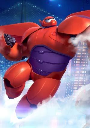 Big Hero 6 – US Textless Movie Wall Poster Print – A4 Size Plakat Größe Disney Baymax