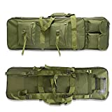 Bolsa Arma Larga, Rifle Airsoft Bolsa TáCtica Funda para Arma 81/94/118Cm Acolchado con Correa De Hombro Bolsa De Transporte Vaina para Caza Disparando (Color : Army Green, Size : 94cm)