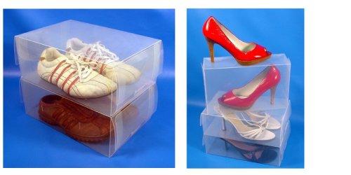 Tallerheels Combo Pack – 10 Femmes et Clair pour Homme 5 Boîtes à Chaussures