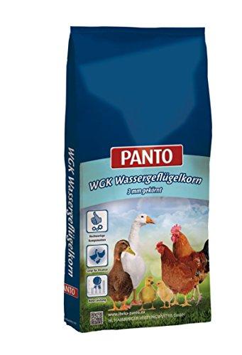 Panto Geflügelfutter, WGK Wassergeflügelkorn 25 kg, 1er Pack (1 x 25 kg)